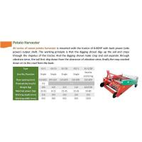 China PLOUGH & TILLER 4U series of sweet potato harvester on sale