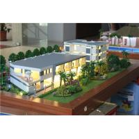 Miniature Ducth Villa Model For Presentation , Lighting Building Exhibition Model