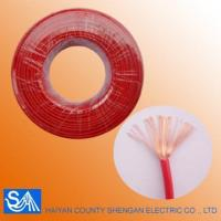 China Hot Selling Flexible Control Electric Wire Color Code Single Wire on sale