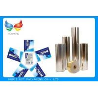 China Vacuum Metallic Foil Paper Single Sided Coating , Easy To Wash Away From Bottles on sale