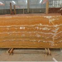 Buy cheap Alabaster Onyx Slabs Tiles product