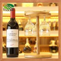 Buy cheap Bamboo Wine Glass Rack Holder product