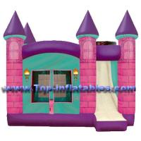 Buy cheap Inflatable Castles Pink Princess Castle product