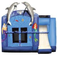 Buy cheap Inflatable Castles Fish Theme Castle product