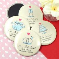 Personalized Wedding Magnets (2.25