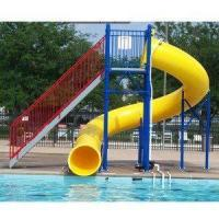 Buy cheap Water Play Park Fiberglass Water Tube Slide For Swimming Pool product