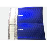 China DVD Size 6.5X10.5 Blue Metallic Padded Envelopes Colored Foil Bubble Mailer on sale