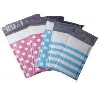 China Dotted and Stripe Colourful Poly Bubble Mailers, Padded Envelopes, 4x8 and 6x10 on sale