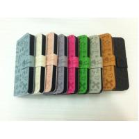 China 20129201802012 New style wholesales For iphone5 Case, pu leather flip case for iphone5 Free shipping on sale