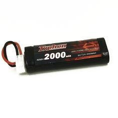China TYPHON 7.2V 2000mAh 6 Cell NiMh Battery with JST