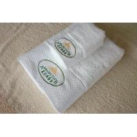 Buy cheap 100% Cotton custom white emboridery hotel face towel and hand towel manufacture product