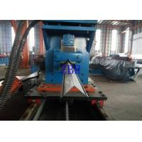Aluminium Shutter Door Roll Forming Machine Gearbox Driven 10M / Min Line Speed