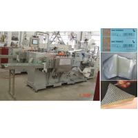 Buy cheap Paraffin gauze dressing making and packing machine / vaseline gauze pad machine product