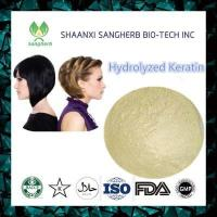 Buy cheap Hair Treatment Hydrolyzed Keratin 69430-36-0 product