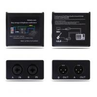 Buy cheap Noise Isolator Professional Full Rage Audio Ground Loop Signal Protector With 3.5-6.35mm Audio Cable product