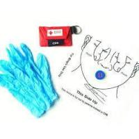 Disposable First Aid Mouth to Mouth CPR Face Mask Shields for Training