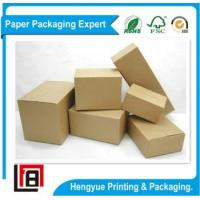 China Steady Corrugated Cartons Regular Slotted Box with Different Sizes on sale