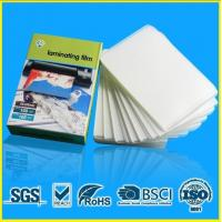 China A4 A3 Laminating Pouches 10 Mil on sale