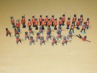 Vintage Old Toy 38 British Hollowcast Lead Soldiers Lot