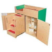 Buy cheap WD21075G Green Apple Deluxe Changing Table with Safety Steps product
