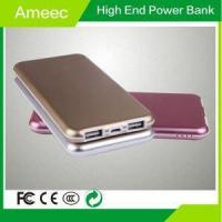 Buy cheap Aluminium Shell Li-Polymer Battery Mobile Phone Charger 8000mAh Electric AMEEC AMJ-K616 Factory from wholesalers