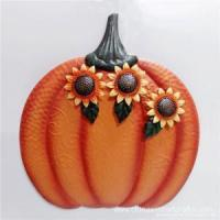 Buy cheap Metal Pumpkin Wall Decor For Home product