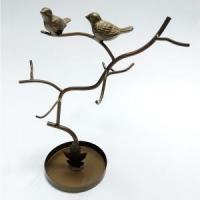 Buy cheap Metal Birds And Tree Sharp Jewelry Rack product