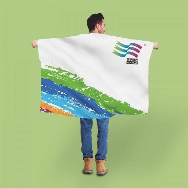 Quality Body Flag for Custom Design with sleeve for sale