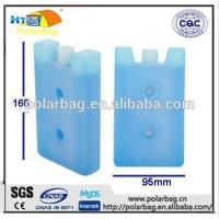 China Frozen Plastic Ice Gel Cooler Brick For Cooling Vaccine Carrier on sale
