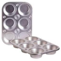 Buy cheap Cooking Concepts Toaster Oven 6-cup Size Metal Muffin / Cupcake Pan, 1 lb product