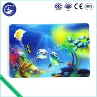 Buy cheap 3D effect PP lenticular table mat Placemat of Sea scenery product