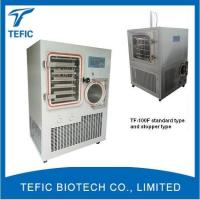Buy cheap Hot Sale Freeze Dryer Machine Manufacturer,silicone Oil Heating Lyophilizer Machine for Sale, Food C product