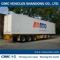 China 3-Axle refrigerated vans for sale on sale