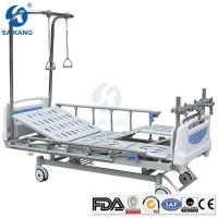 Hospital Medical Therapy Traction Orthopaedic Bed Equipment with Manual Lumbar