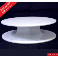 Buy cheap Round Cake Stand White Cupcake Stand / Round Display Stands Wedding Party Decorating product