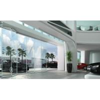 Buy cheap Glass folding door without side frame Glass folding door without side frame product