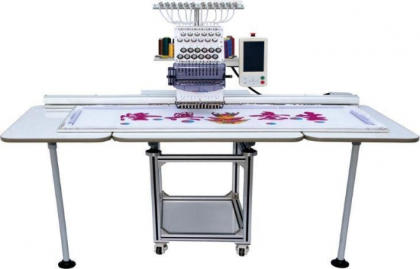 best single needle embroidery machine