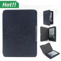Buy cheap New Kindle 7th Generation PU leather Magnetic Sleep and wake up ultra slim cover smart case for... from wholesalers