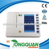 China High Quality portable Cardiograph 6-channel Electrocardiograph ECG Machine for sale MSLEC20-l on sale