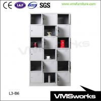 Buy cheap Heavy Duty Custom Metal Public 18 Door Lockers Cabinet For Sale product
