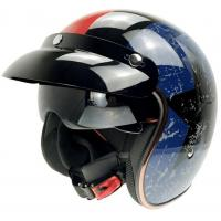 China motorcycle helmet with sun visor,cheap sale motorcycle half face helmet on sale