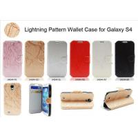 Buy cheap Lighting Pattern Walllet Case for Galaxy S4 product