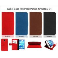 Buy cheap Wallet Case with Pearl Pattern for Galaxy S4 product