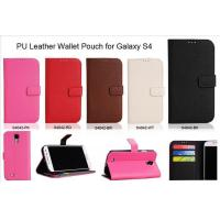 Buy cheap PU Leather Wallet Pouch for Galaxy S4 product