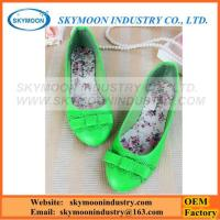 Buy cheap Girls Colorful Cute Casual Falt Shoes From Factory OEM Orders product