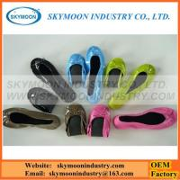 Buy cheap Popular Shiny Soft Ballet Rollable And Foldable Women Shoes from wholesalers