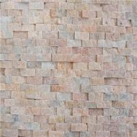 Buy cheap Famous Mix Color Crystal White Marble 2cm Mosaic Tiles from wholesalers