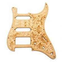 Buy cheap Wood Flower Pattern SSH Guitar Pickguard Replacement from wholesalers