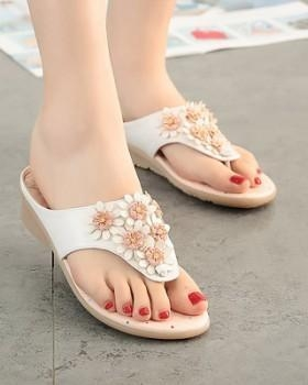 Quality Seaside flip-flops spring and summer slippers for women for sale