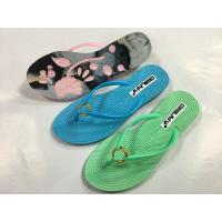 Buy cheap PCU slippers gold circle simple upper floral outsole PCU slippers product